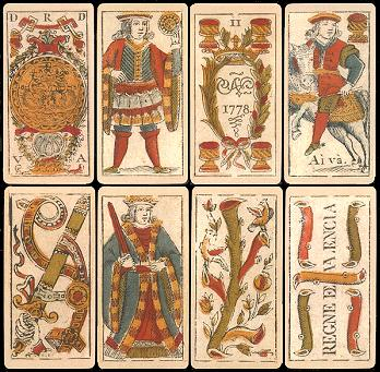 This image has an empty alt attribute; its file name is Spanish_deck_printed_in_Valencia_in_1778.jpg